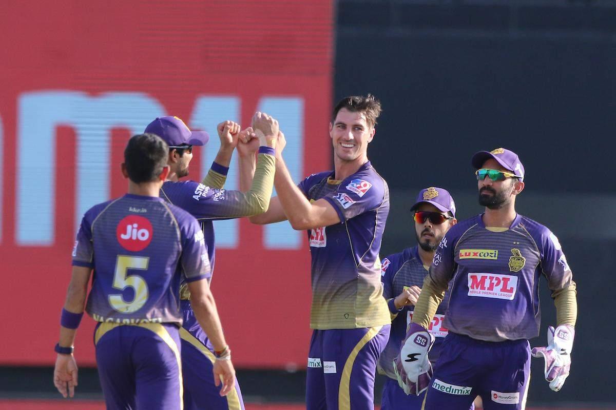 IPL  : कोलकाता नाइट राइडर्स ने  दिल्ली कैपीटल को 59 रन से हराया हराया