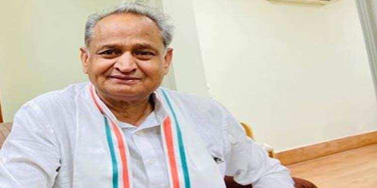 पत्रकार डॉ. जसवंत राठी की पुस्तक 'मेरा युद्ध, कैंसर विरूद्ध' का CM गहलोत ने किया विमोचन