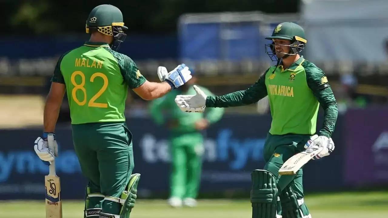 दक्षिण अफ्रीका ने तीसरे एकदिनी में आयरलैंड को 70 रनों से हराया,श्रृंखला में की 1-1 से बराबरी