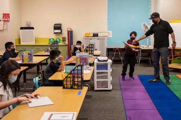 school opened in America