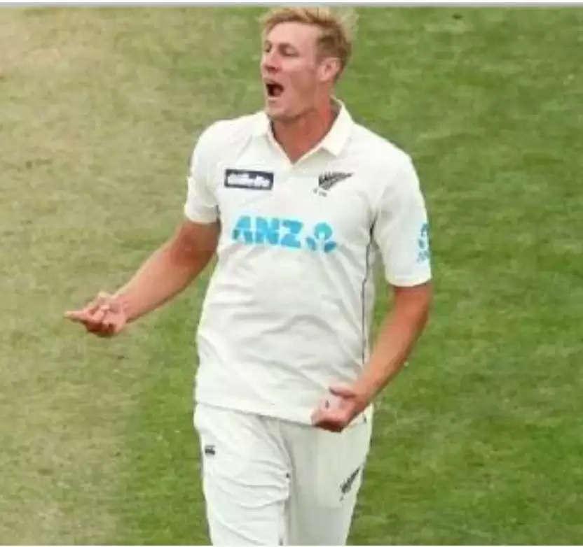 सरे काउंटी क्रिकेट क्लब ने न्यूजीलैंड के हरफनमौला खिलाड़ी काइल जैमीसन के साथ किया करार