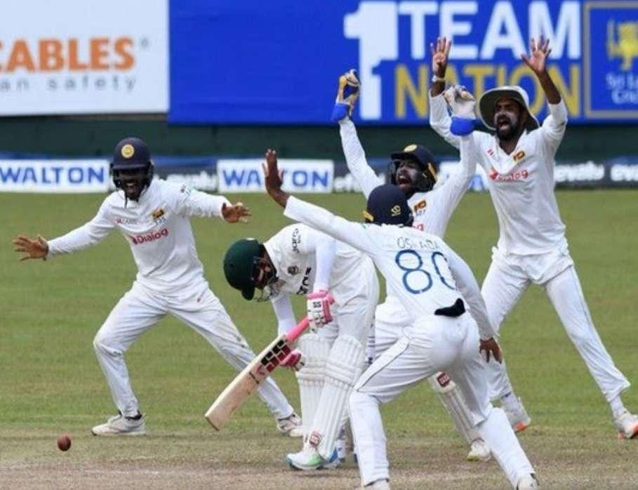 श्रीलंका ने दूसरे टेस्ट में बांग्लादेश को 209 रनों से हराया,दो मैचों की श्रृंखला 1-0 से जीती