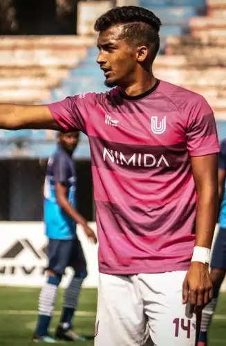 राष्ट्रीय फुटबॉल टीम का प्रतिनिधित्व करने के लिए तैयार हैं अरुण कुमार