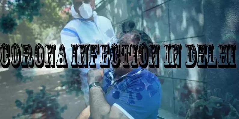 corona infection in Delhi
