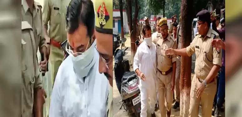 लंबी पूछताछ के बाद केंद्रीय गृह राज्य मंत्री अजय मिश्र के बेटे आशीष मिश्रा को पुलिस ने गिरफ्तार किया