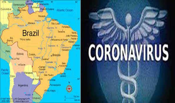 ब्राजील में कोरोना के करीब 80 हजार नए मामले सामने आए