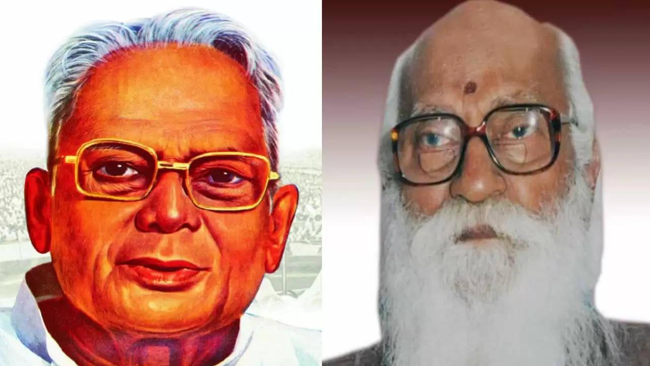 संसदीय जनतंत्र के महान सेनानी थे भारत रत्न नानाजी देशमुख और जेपी : राकेश सिन्हा