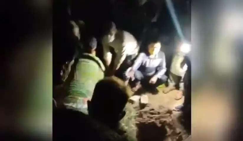 कश्मीर पुलिस ने जारी किया गिलानी के अंतिम संस्कार का वीडियो