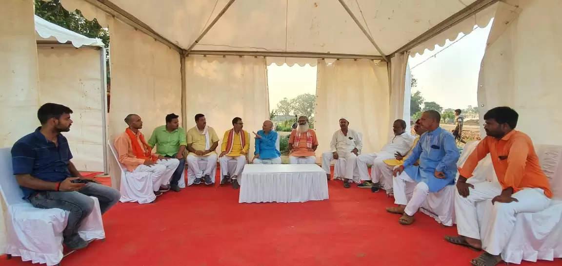 पीएम के कार्यक्रम की तैयारियों में कुशीनगर भाजपा ने झोंकी ताकत