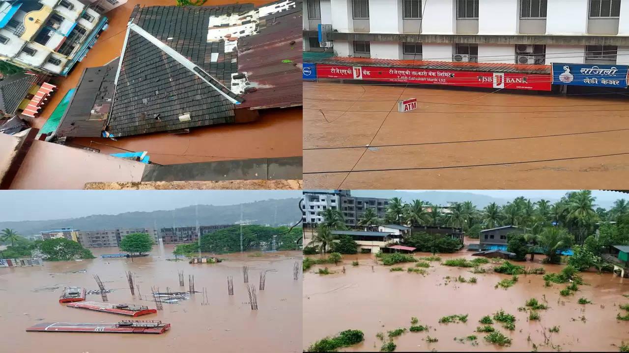 महाराष्ट्र में बारिश से महाराष्ट्र के कई जिलों में हालात बिगड़े