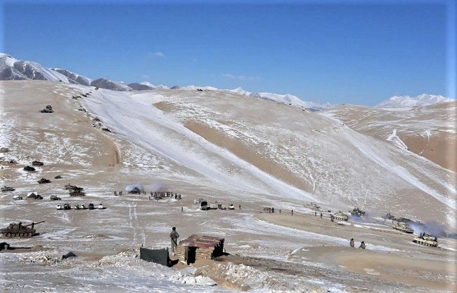 पूर्वी लद्दाख के गहराई वाले क्षेत्रों में फिर सक्रिय हुआ चीन