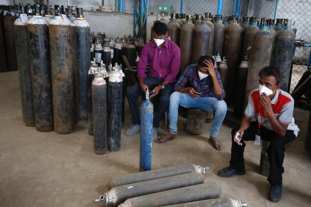 Four corona patients die due to lack of oxygen in Kalaburgi, Karnataka