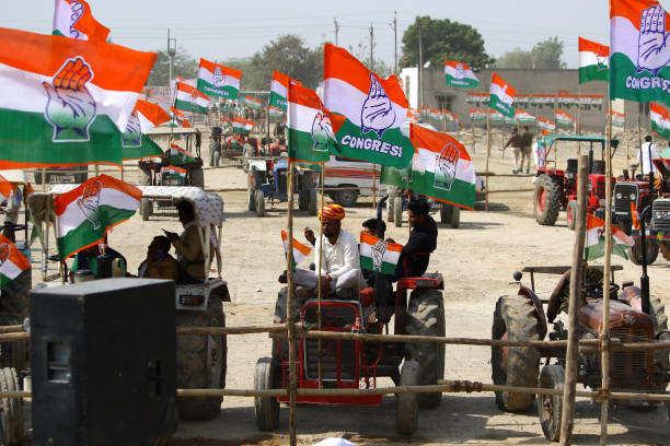 राजस्थान विधानसभा उपचुनाव में कांग्रेस की बढ़त