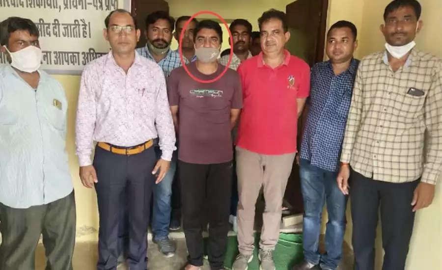 राजस्थान : हैड कांस्टेबल 20 हजार रुपये की रिश्वत लेते गिरफ्तार