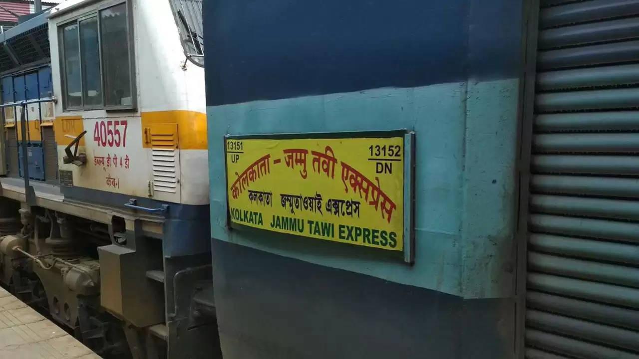 newspoint24.com / newsdesk Kolkata-Jammutvi special train will run from June 08 via Lucknow Faizabad
