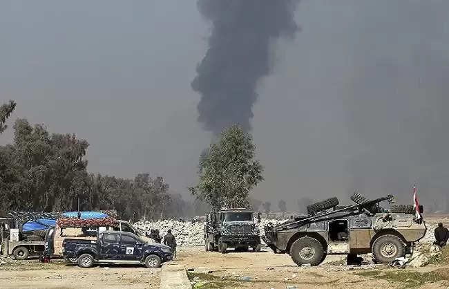 Newspoint24 / newsdesk Rocket attack on Iraqi army base targeting US soldiers