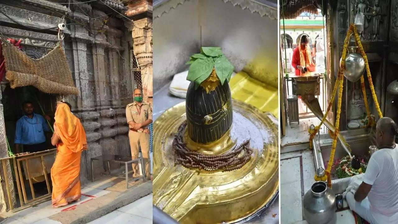 Newspoint24 /newsdesk Devotees of Shiv are happy after visiting Shri Kashi Vishwanath's court, pleading for liberation from Corona
