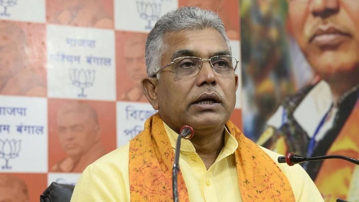 बंगाल में पार्टी कार्यकर्ताओं की हत्या और हिंसा पर बोले दिलीप, सूबे में हालात बेकाबू