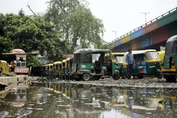 Heavy rain in Delhi, NCR