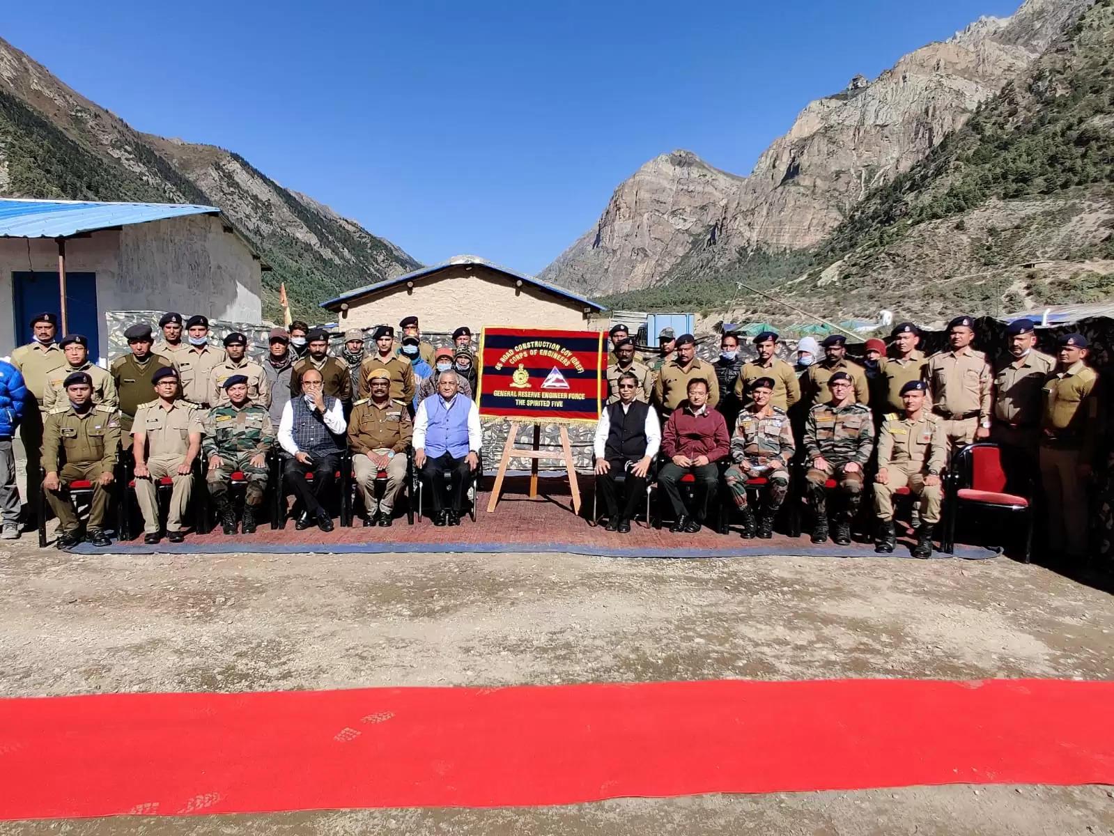 चीन-नेपाल सीमा से लगे गुंजी गांव का केंद्रीय मंत्री डॉ वीके सिंह ने किया दौरा