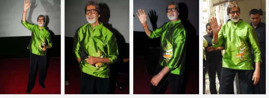 बॉलीवुड के महानायक  79 के हुये अमिताभ बच्चन