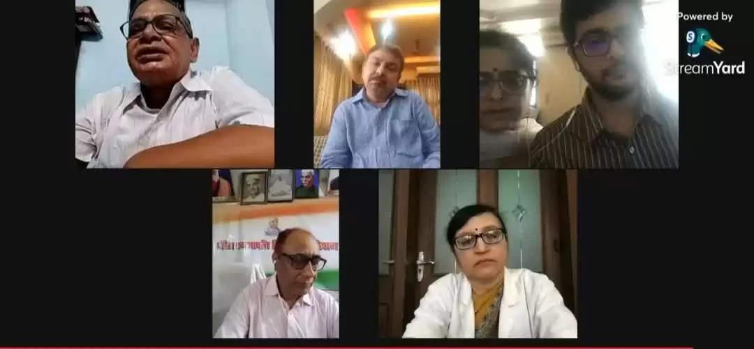 Newspoint24 / newsdesk  Varanasi: The biggest reason for the growth of black fungus is moisture: Dr. Akash