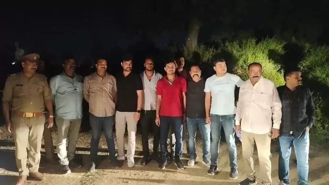 लखनऊ मुठभेड़ में अन्तर्राष्ट्रीय बंग्लादेशी डकैत गिरोह के तीन सदस्य गिरफ्तार