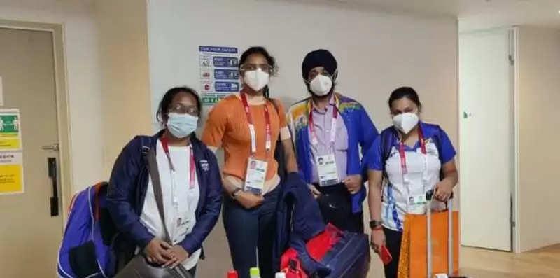 टोक्यो पहुंचा भारतीय ओलम्पिक दल