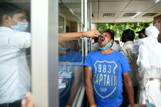 देश में कोरोना के 35 हजार नए मामले , 260 मरीजों की मौत