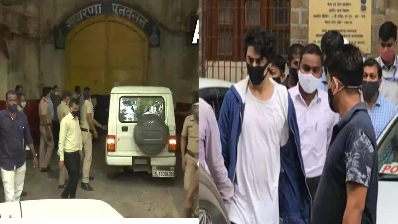 आर्यन खान सहित 8 आरोपित जेल भेजे गये , जमानत याचिका पर सुनवाई जारी