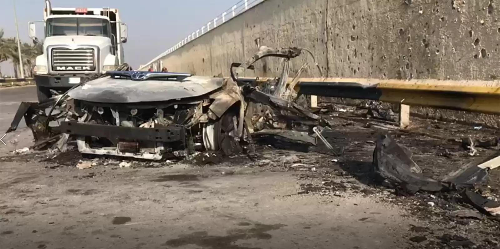 Newspoint24 / newsdesk Drone attack on Baghdad International Airport