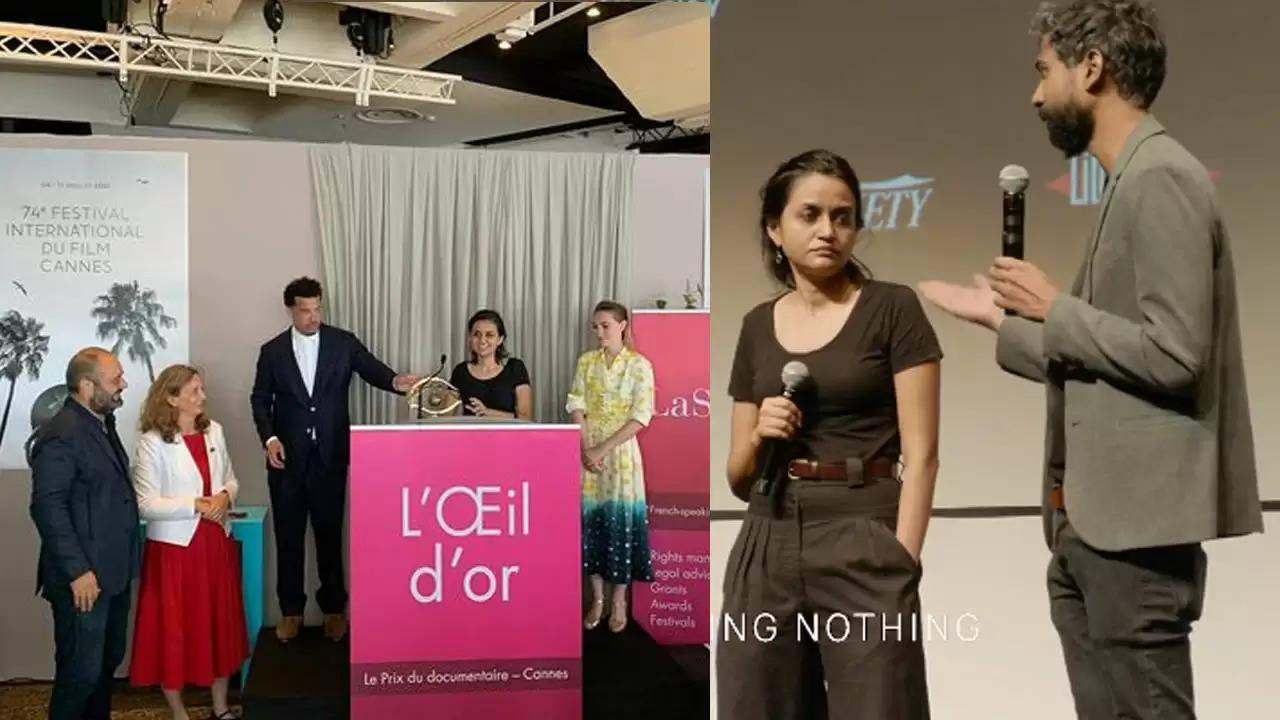मुंबई में जन्मी फिल्म निर्माता पायल कपाड़िया की पहली फिल्म ' ए नाइट ऑफ नोइंग नथिंग' ने जीता गोल्डन आई अवार्ड जीता