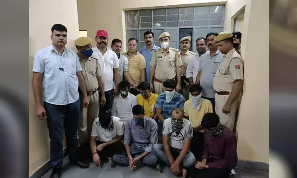 राजस्थान : एसआई भर्ती परीक्षा में नकल करवाने वाले गिरोह के सात आरोपित गिरफ्तार